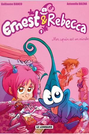 Image - Ernest et Rebecca – t. 5 : Mon copain est un microbe