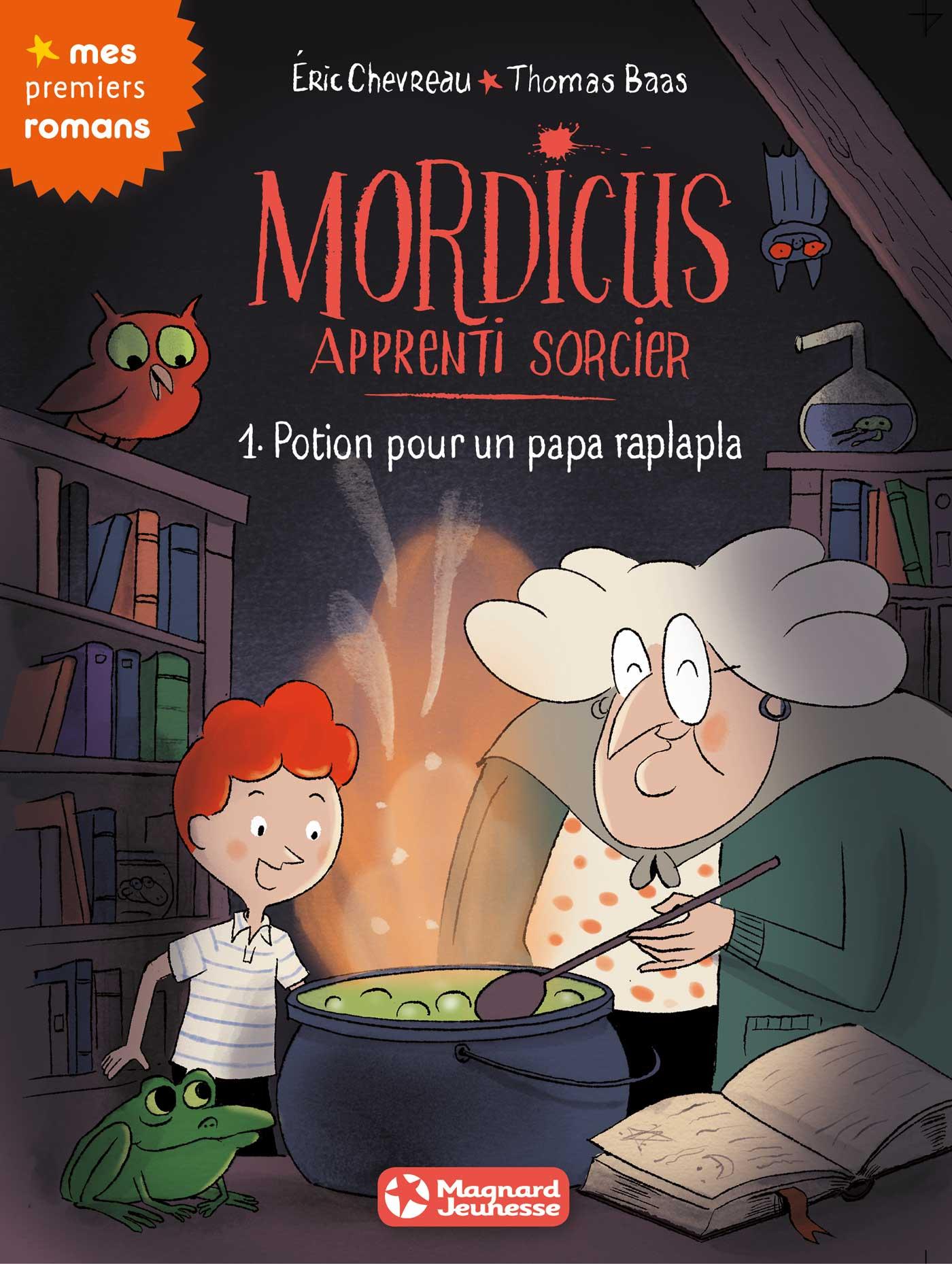 Miniature - Mordicus, apprenti sorcier – tome 1 : potion pour papa raplapla