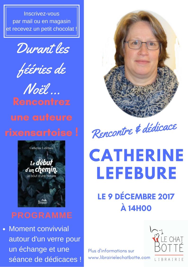 Séance de dédicaces de Catherine Lefébure