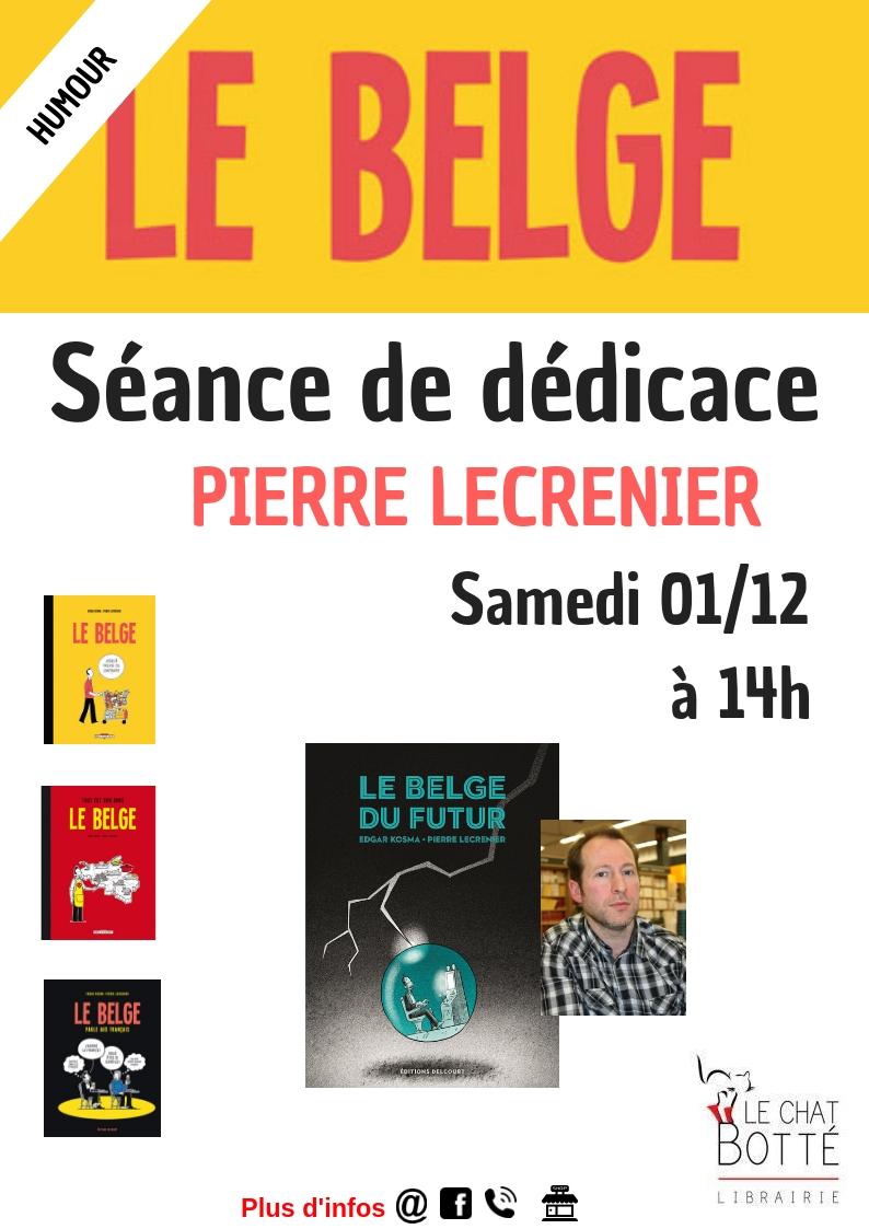 Séance de dédicace – BD «Le Belge» – Pierre Lecrenier