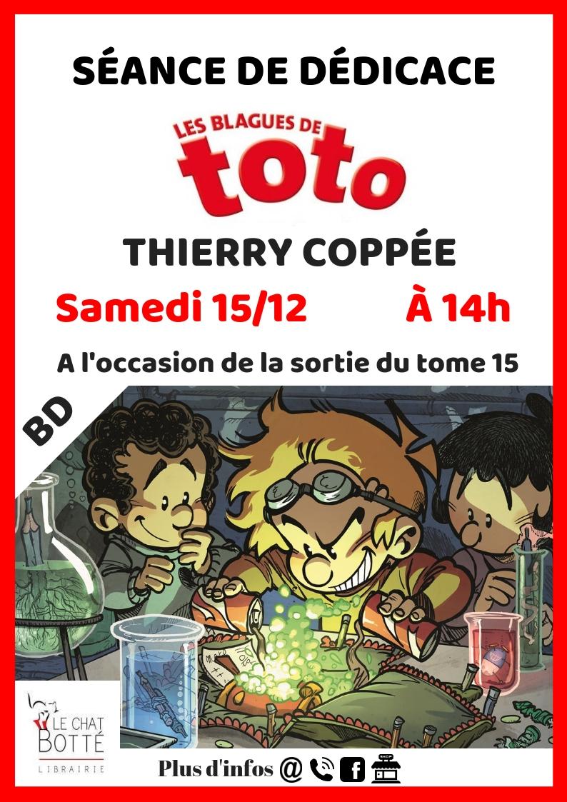 Dédicace – Thierry Coppée