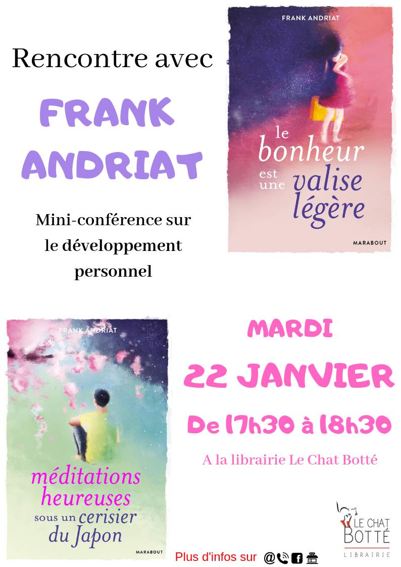 Rencontre avec Frank Andriat