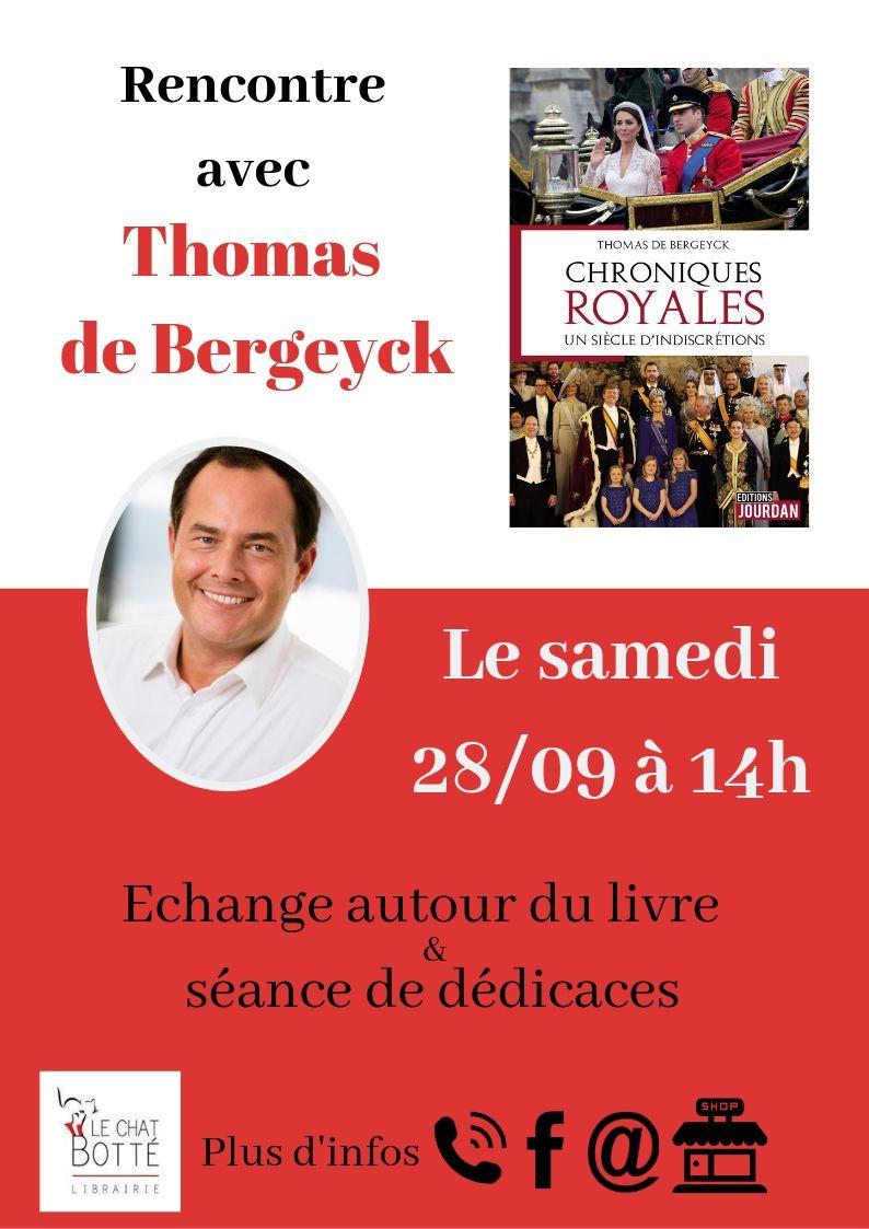 Rencontre avec Thomas de Bergeyck