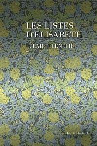 Miniature - Les listes d'Elisabeth